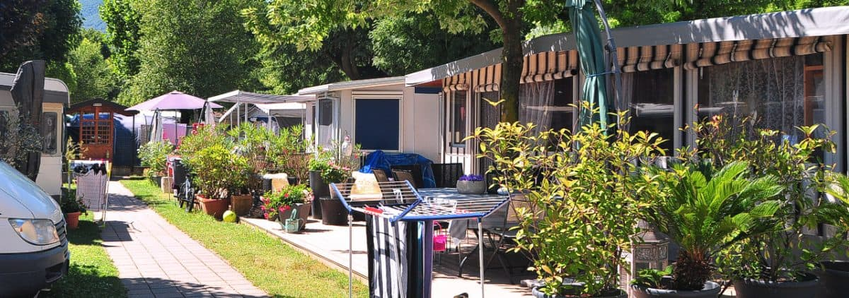 Campingplaatsen Camping Le Vele Domaso