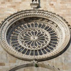 Raam kerk Como - Comomeer