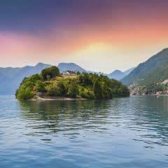 Avond bij Isola Comacina