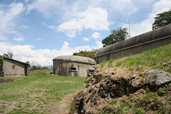 Bunker Fort Montecchio - Colico - Comomeer