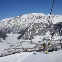 Skilift piste Livigno