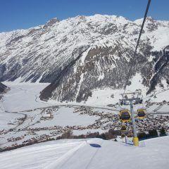 Skilift skipiste Livigno