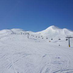 Skipiste Alpen