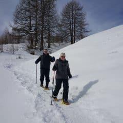 Wandeltocht met rachette in Livigno