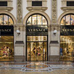 Winkelen Milaan - Versace