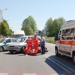 Ambulance Italië Milaan