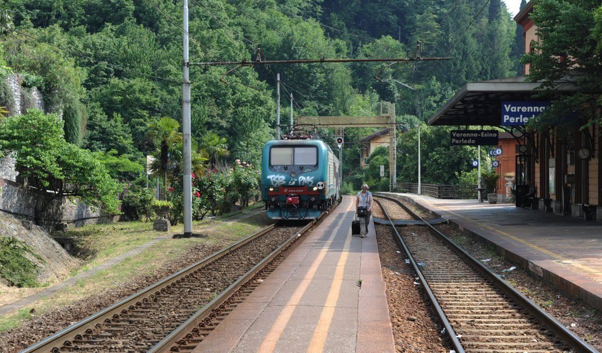 Openbaarvervoer Comomeer - trein