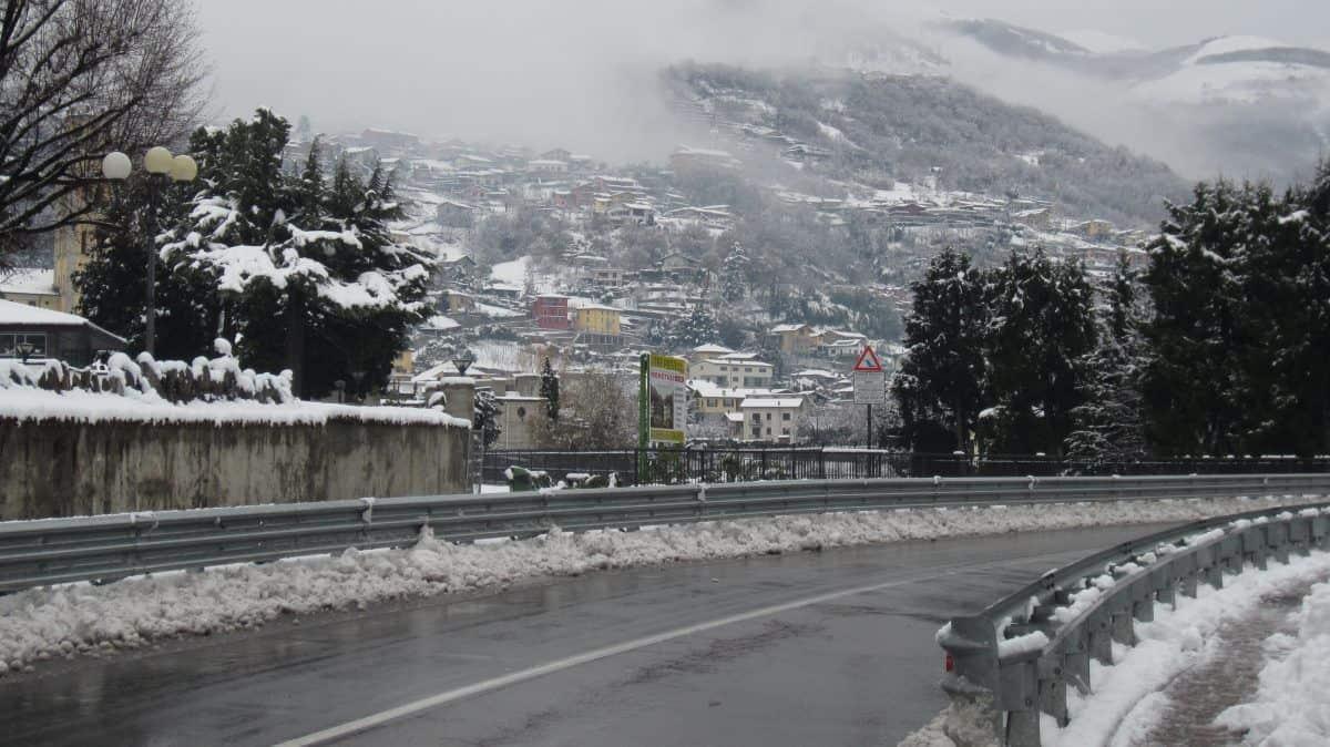 Sneeuw Domaso