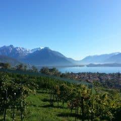 Uitzicht vanaf Sorsasso Domaso