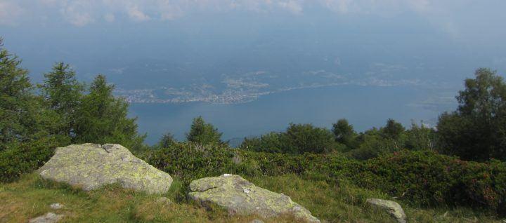 Monte Legnoncino uitzicht