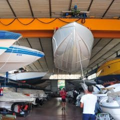 Hangar haven Nautica Domaso