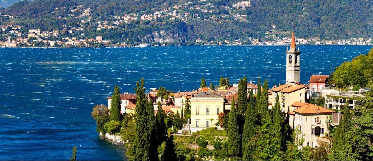 Villa Comomeer vanaf Menaggio