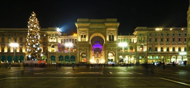 Kerstmis Milaan