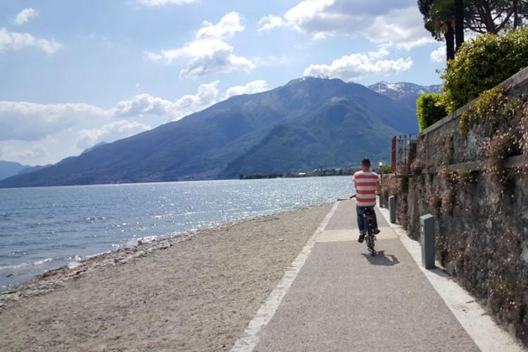 Fietspad & wandelpad van Domaso naar Gravedona