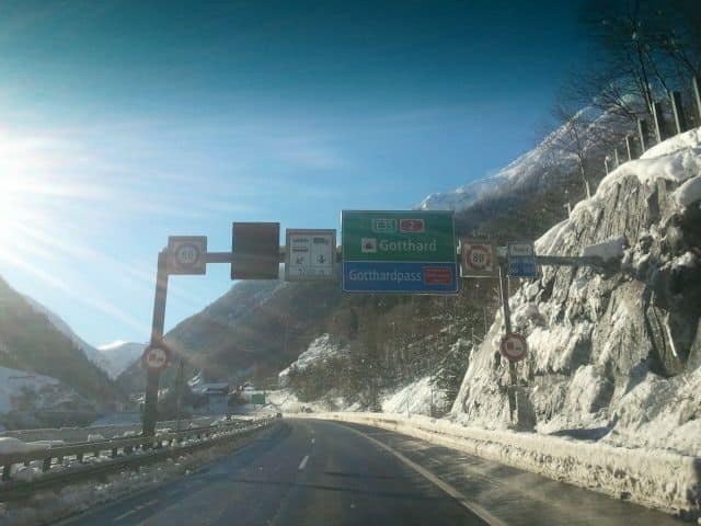 Gotthardtunnel Zwitserland