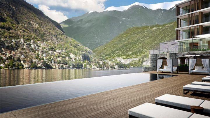 Zwembad Il Sereno - 5 sterren hotel Torno Comomeer