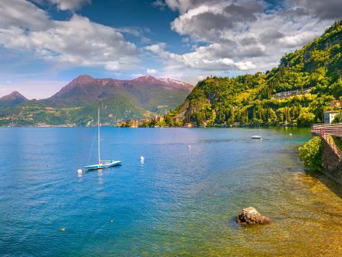 Lecco Comomeer Italië