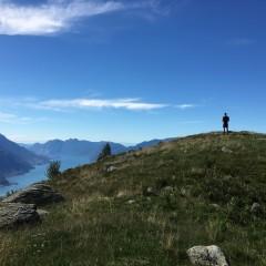Monte Bregagno boven Menaggio