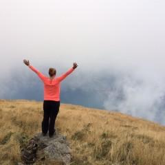 Tanné Vogel op de Monte Bregagno