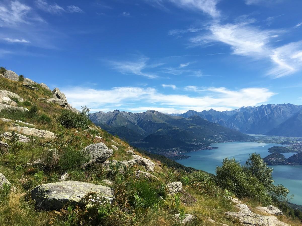 Uitzicht Monte Bregagno