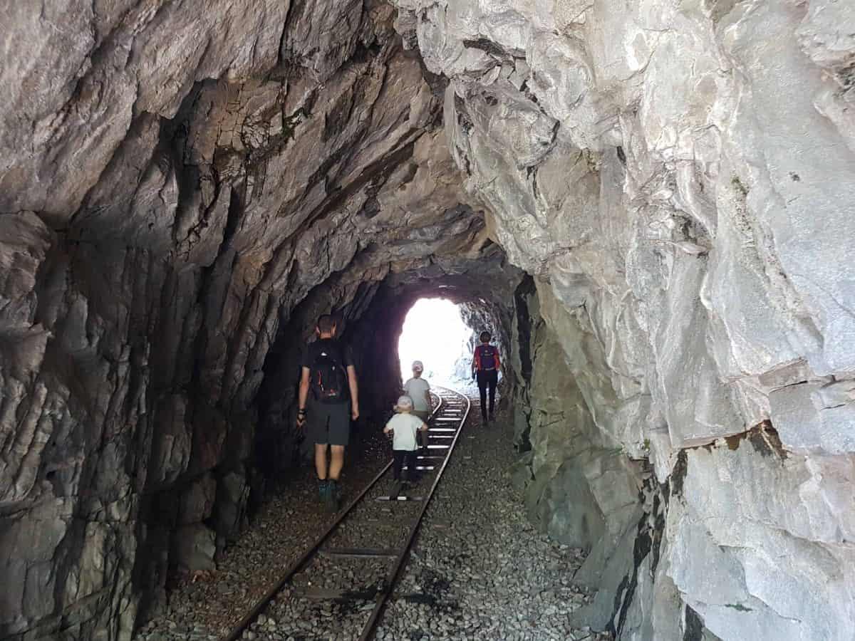 Tunnel Tracciolino wandeling