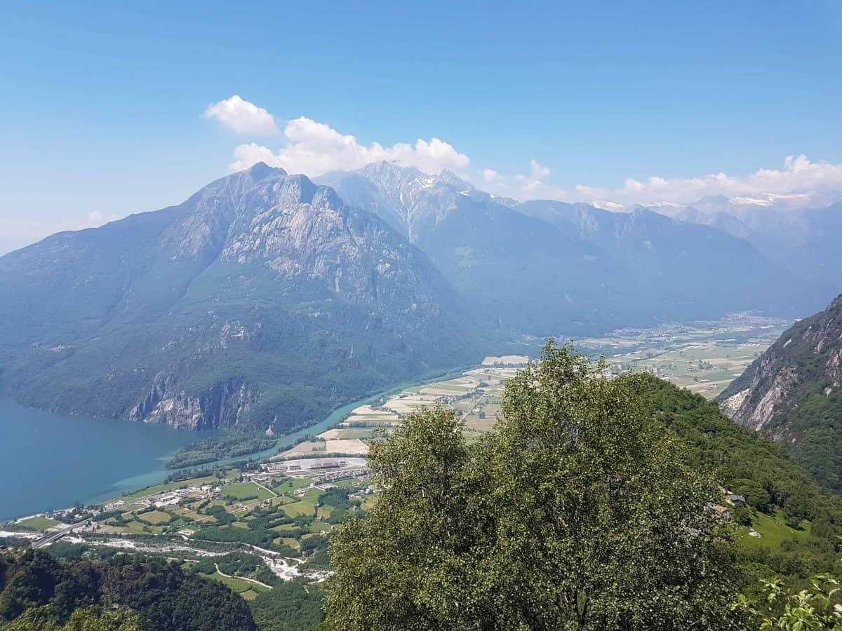 Uitzicht Lago di Mezzola