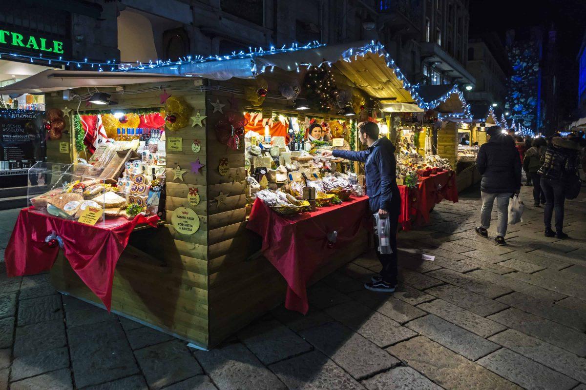 Kerstmarkt Como, Comomeer