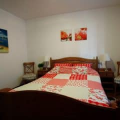 Slaapkamer appartement Porto Vista