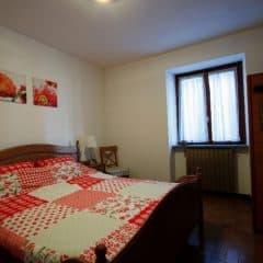 Slaapkamer met sauna appartement Porto Vista