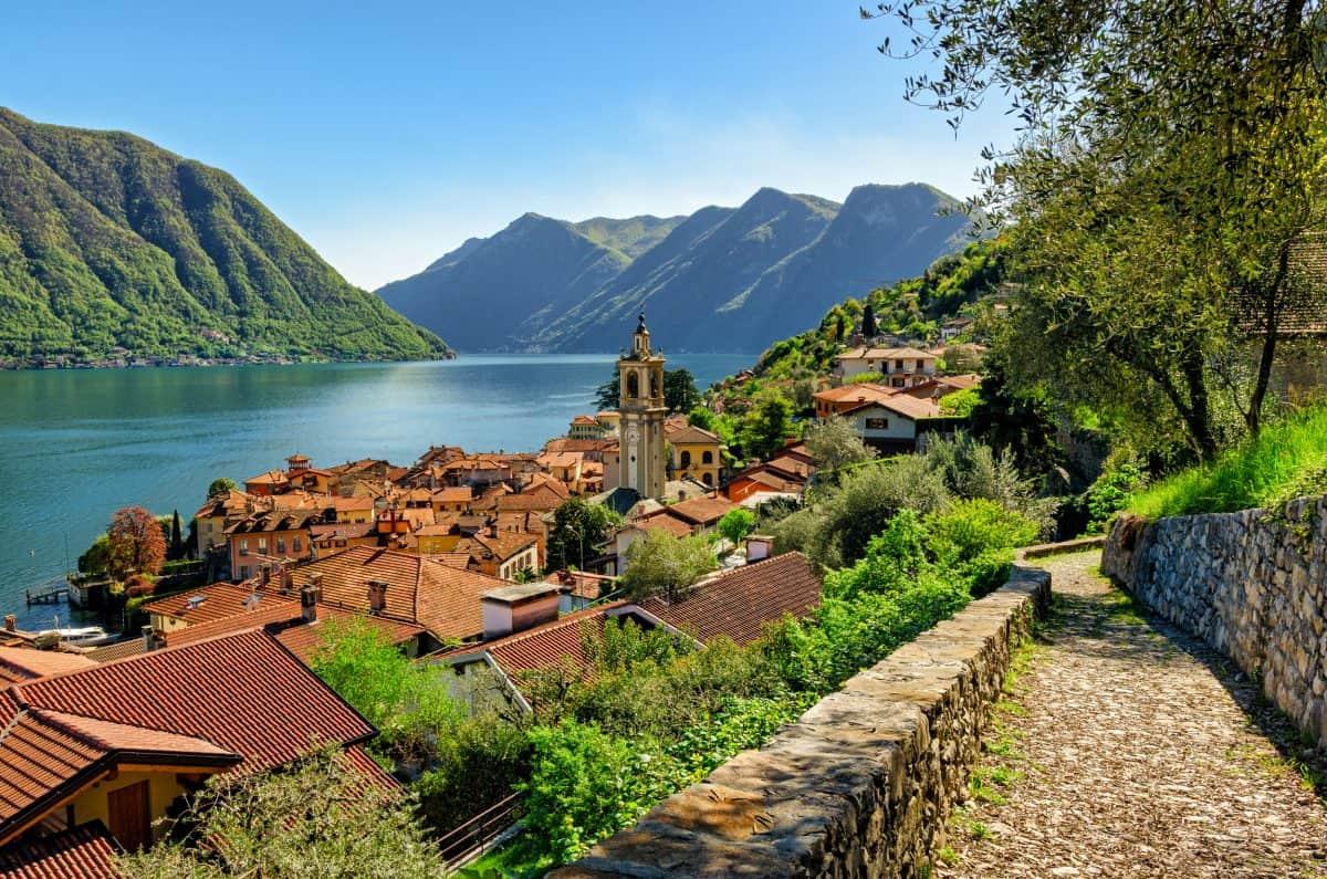 Greenway wandeling Comomeer - Lago di Como - Colonno