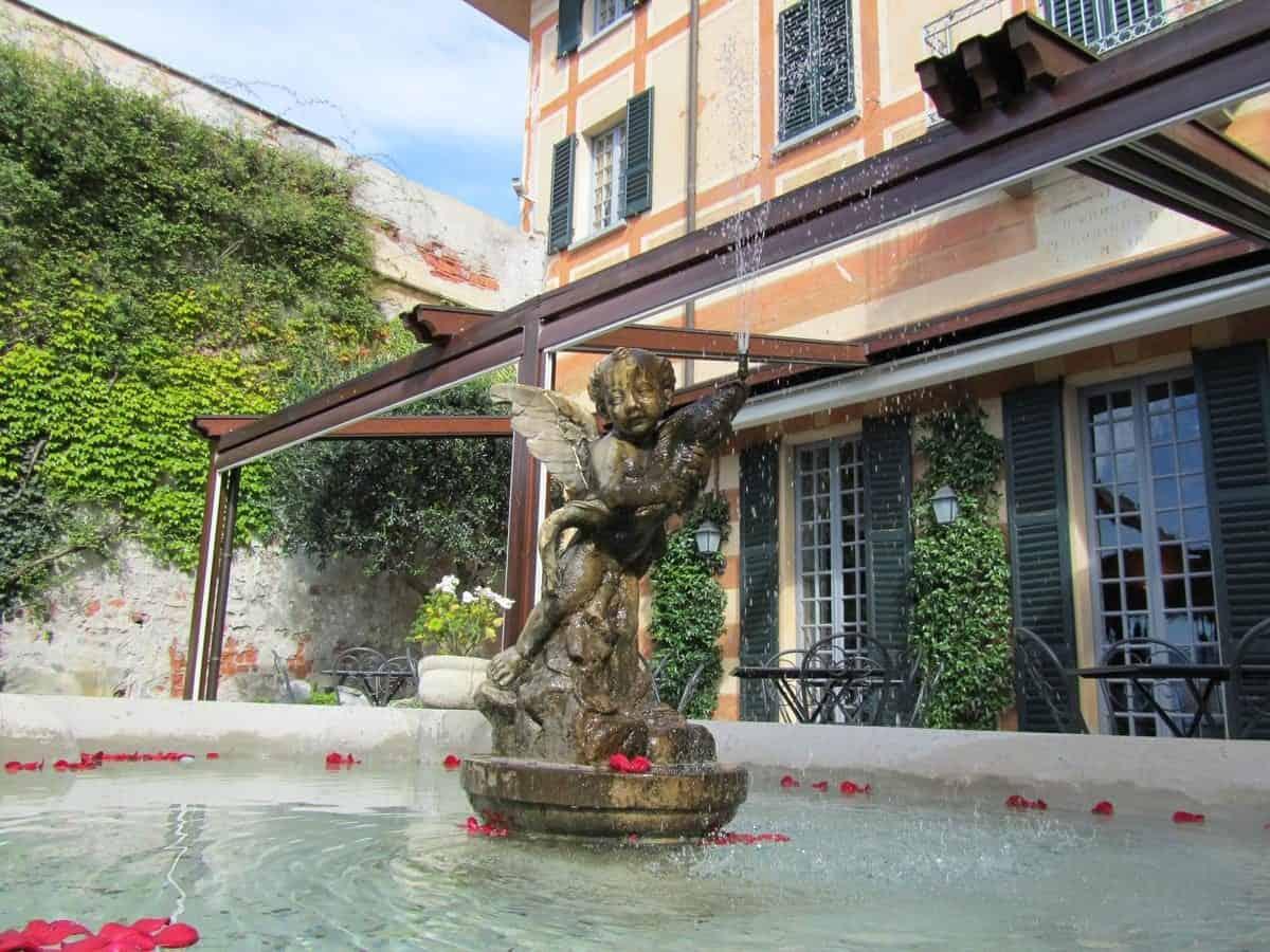 Hotel Villa Cipressi Varenna - Fontein