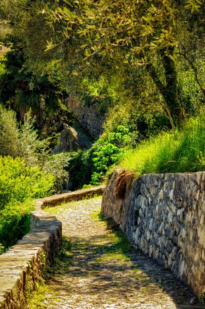 Greenway wandeling Comomeer - wandelpad