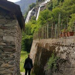 Wandelpad bij Acqua Fraggia
