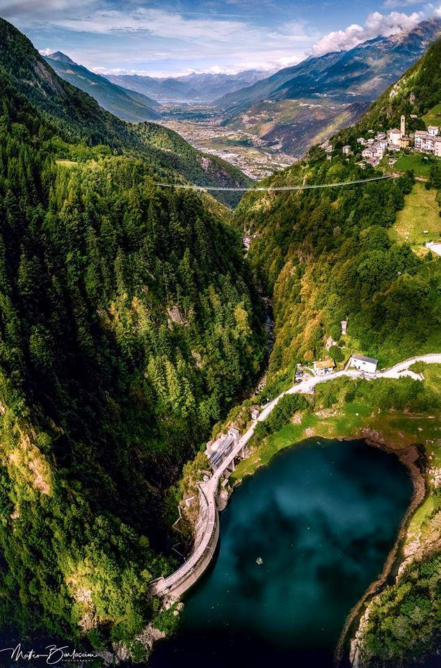 Ponte nel cielo - Valtellina