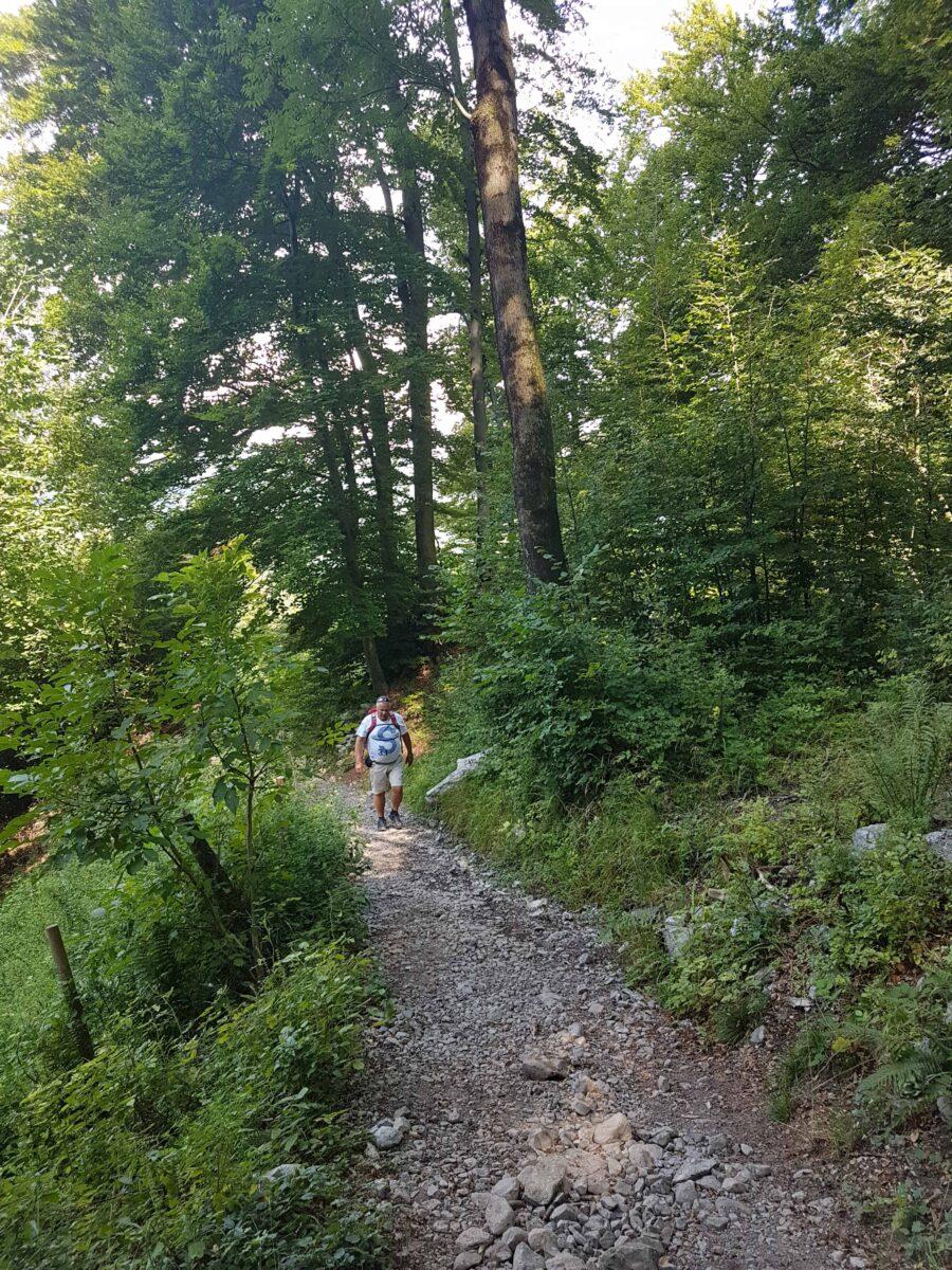Start wandeling sentiero delle espressioni