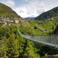 Ponte nel cielo brug vlakbij het Comomeer