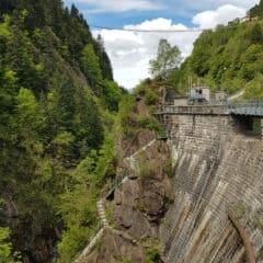 De dam bij de Ponte nel Cielo